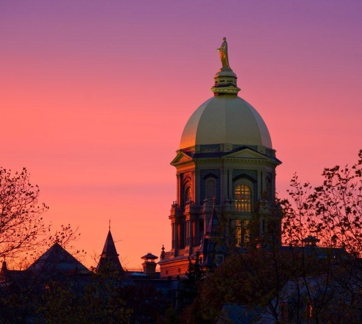 notre dame, The 10 Kinds Of People You Meet At Notre Dame
