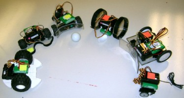 Differential Drive Soccer Robot Team
