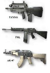 Photograph of Assault Rifles