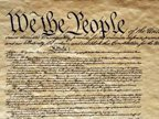 The Heading of the Constitution of the United States.