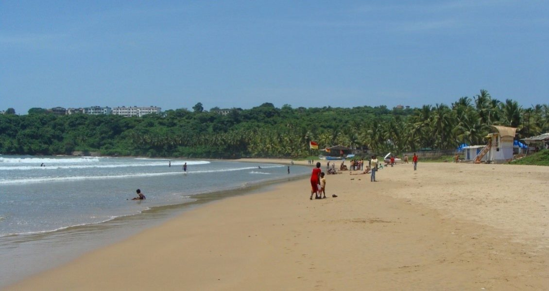 5. Bogmalo Beach, Goa