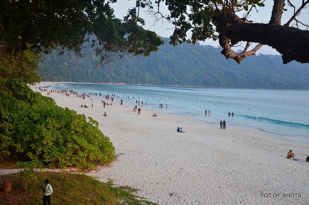 1. Radhanagar Beach, Andaman & Nicobar Islands