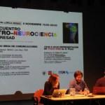 Elena Martín Guerra en la ponencia de Teatro y Neurociencia