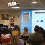 Elena Martin presenta los resultados del estudio con Alzheimer León