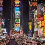 carteles publicitarios en New York