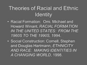 racial formation summary