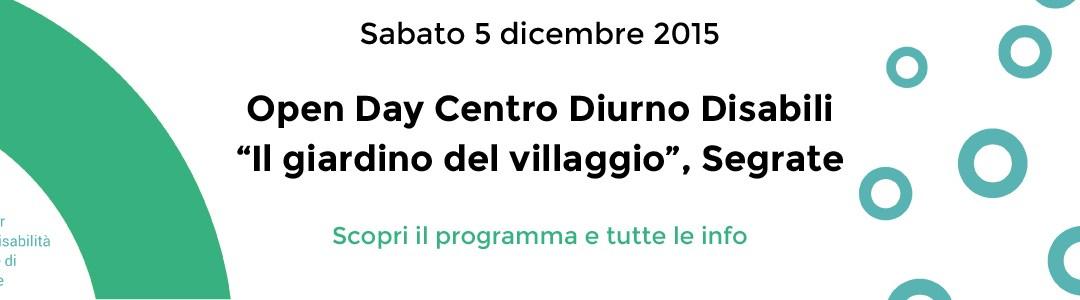 """Open Day CDD """"Il giardino del villaggio"""""""