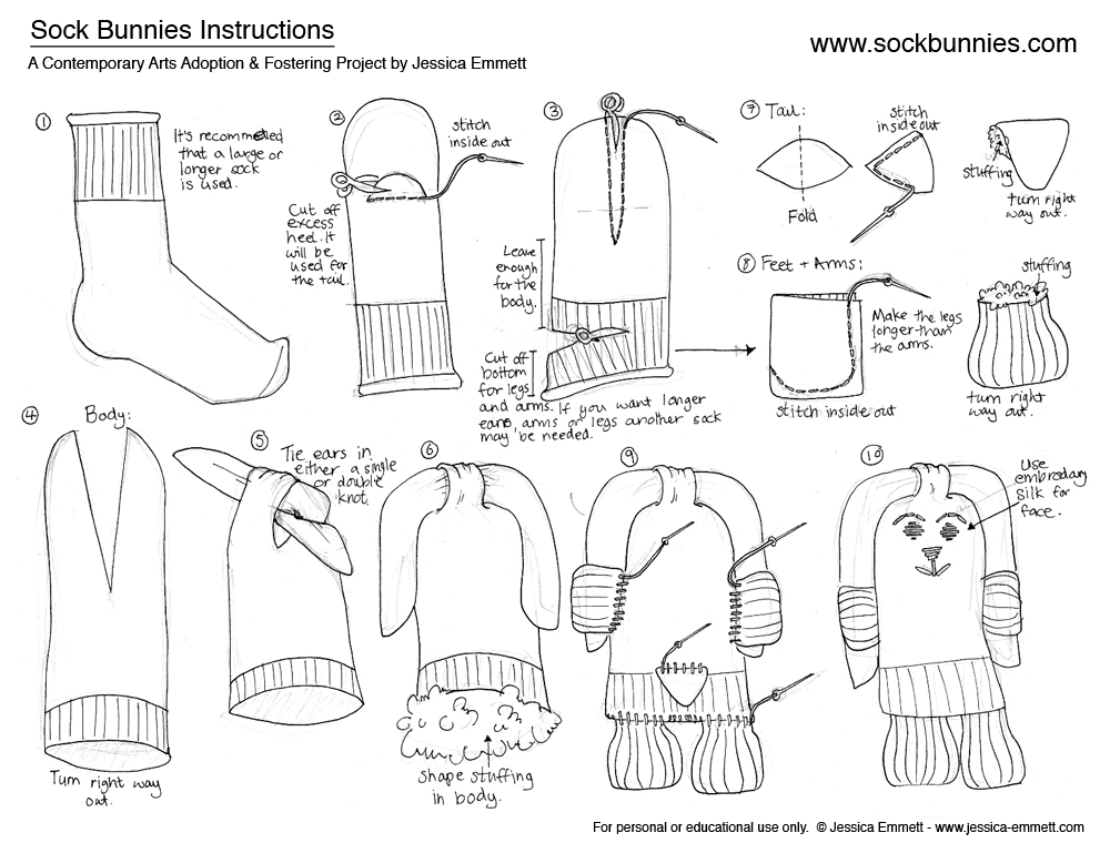 How-to-make-Sew-Sock-Bunny-step-by-step-DIY-tutorial