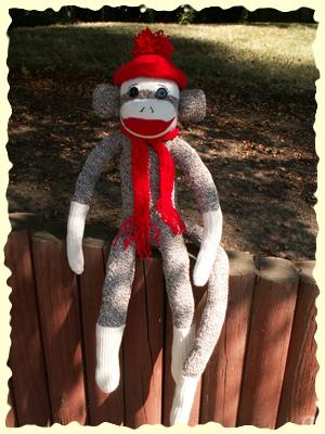 sock monkey fun goodies