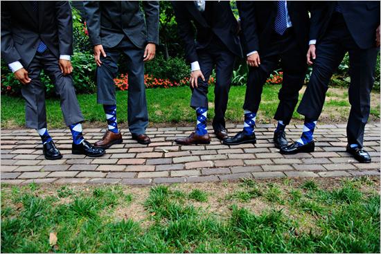 Unique Mens Wedding Socks