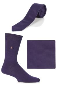 Mens SockShop Colour Burst Socks, Tie and Pocket Square ...