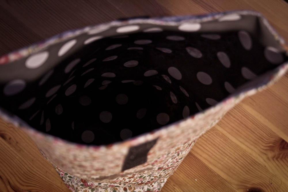 DIY Tasche nähen sticken-sockshype02 tasche nähen Anleitung: Tasche nähen mit Klettverschluss