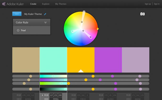 Adobe-Kuler Farbauswahl Wolltipps: Ideale Farbauswahl für Strick- oder Häkelprojekte