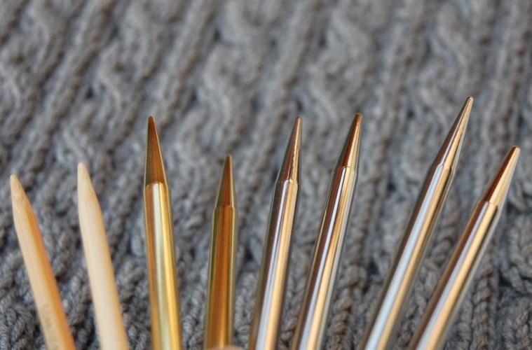 Stricknadeln Stricknadeln – Übersicht über die gängigen Modelle und Materialien