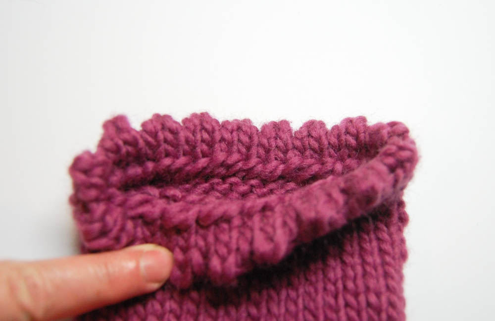 Handschuh für Getränke Weg-8 Handschuh für Getränke Anleitung: Handschuh für Getränke stricken