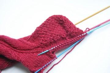 socken stricken mit verstärkter ferse Anleitung: Socken stricken mit verstärkter Ferse