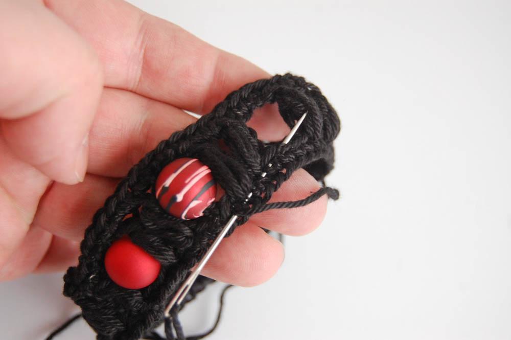 Armband häkeln-5 armband häkeln Anleitung: Armband häkeln mit Büschelmaschen