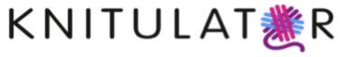 Logo knitulator Knitulator – die App zum Stricken und Häkeln