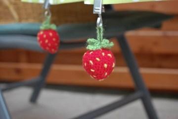 erdbeeren selber häkeln Anleitung: Erdbeeren selber häkeln