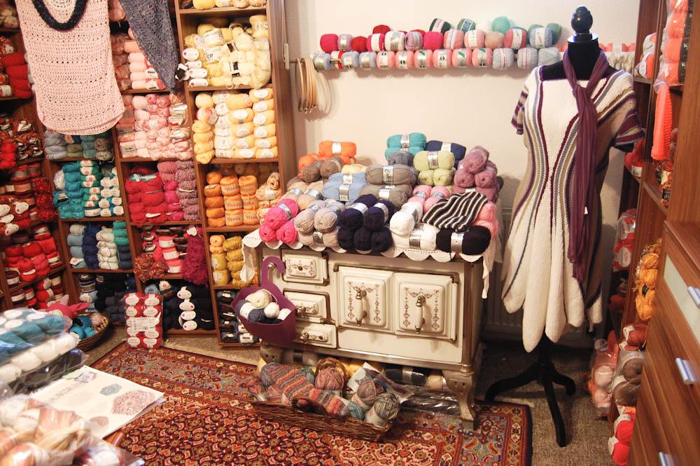 Casa di Lana - Handarbeitsgeschäft Anita Plechninger Viermuenden  Casa di Lana – Haus der Wolle in Frankenberg-Viermünden