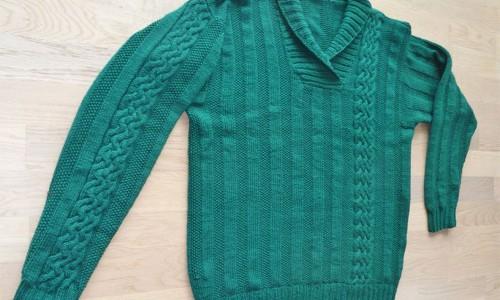 Knitulator-Männerpullover stricken männer Im Fokus – Männer und Handarbeiten