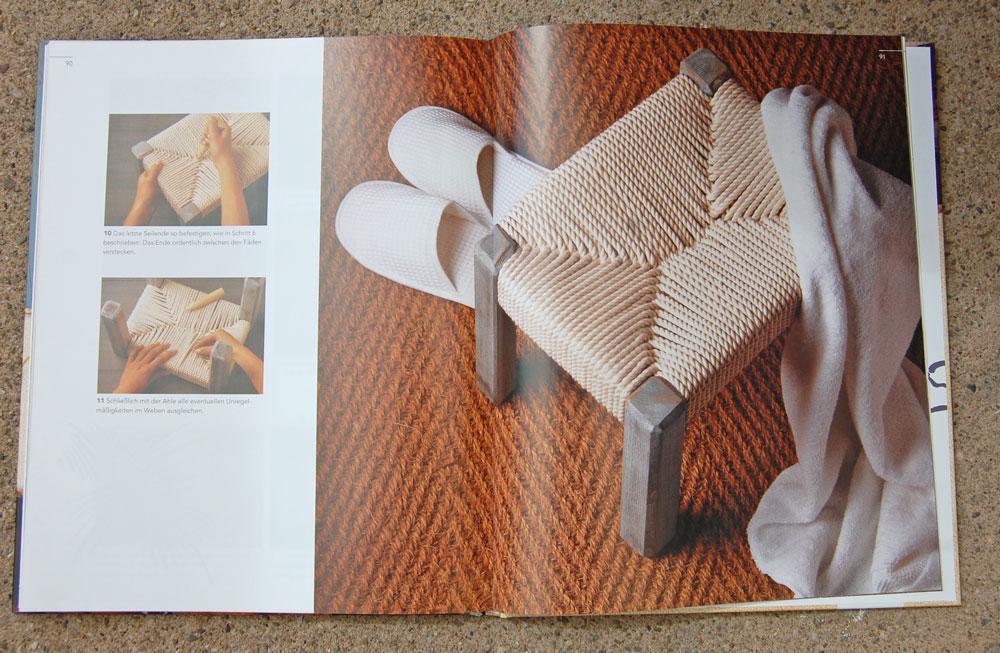 Kreativ mit Kordeln_Hocker kreativ mit kordeln Buchbesprechung: <I>Kreativ mit Kordeln</i> von Deena Beverley