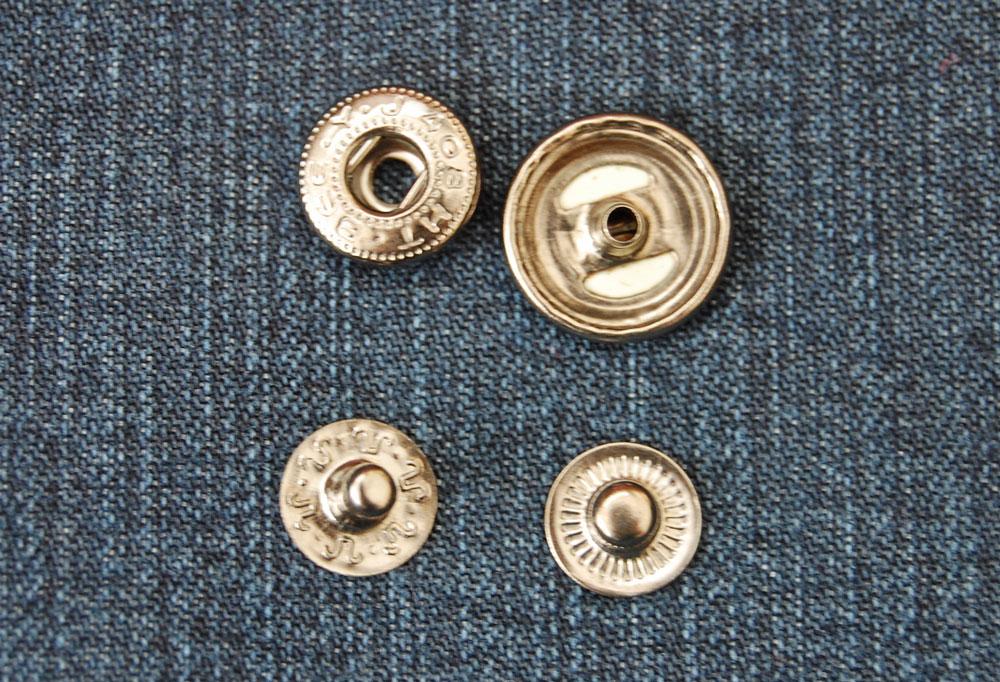 Druckknöpfe knopf Zugeknöpft – Der Knopf, Verschluss und Dekoration