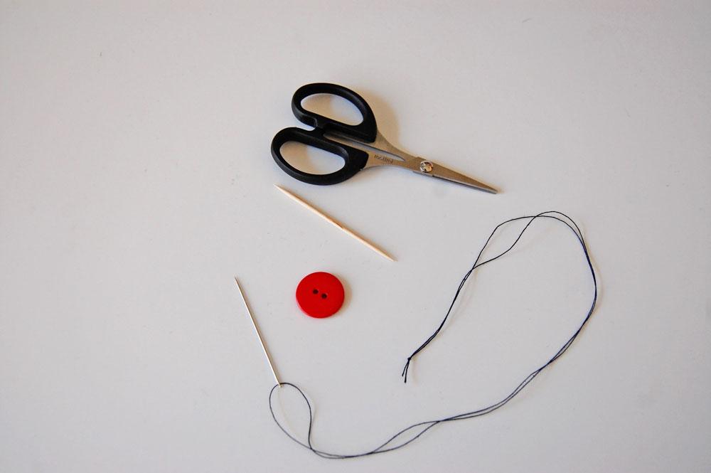 Knopf annähen - Material knopf annähen Zugeknöpft - Knopf annähen - So einfach geht es.