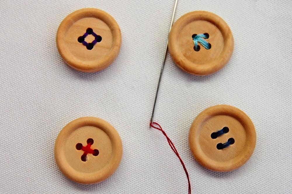 Vierlochknöpfe knopf annähen Zugeknöpft - Knopf annähen - So einfach geht es.