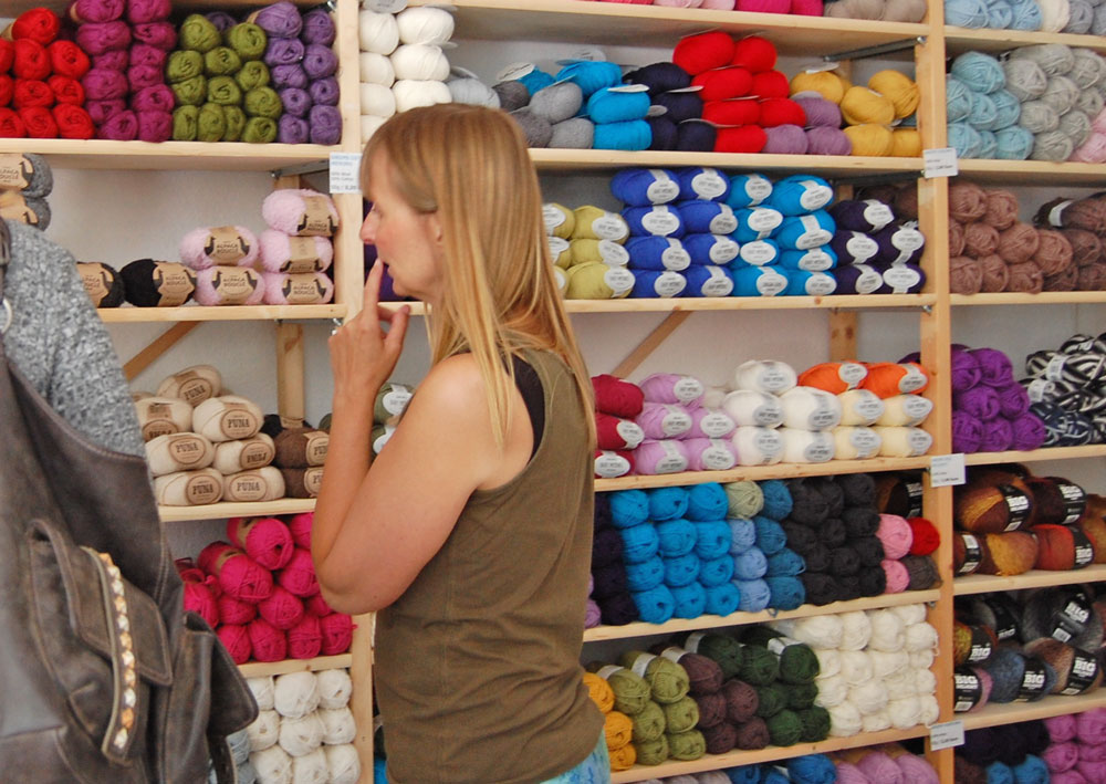 Garn Store - Beratung  Anja Diewald vom <i>Garn Store</i> im Interview