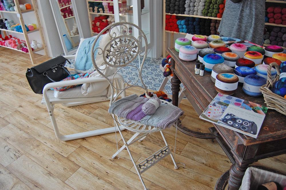 Garn Store - Dekoration  Anja Diewald vom <i>Garn Store</i> im Interview