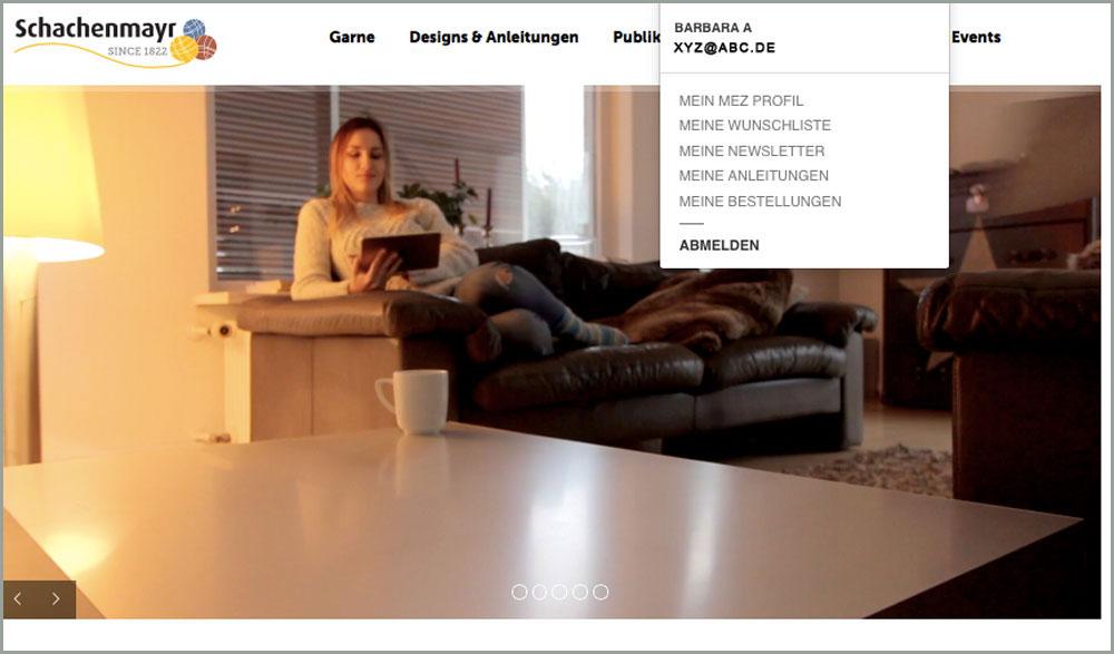 Schachenmayr Internetseite schachenmayr Sabine Mader im Interview über die Neuheiten der Schachenmayr-Webseite