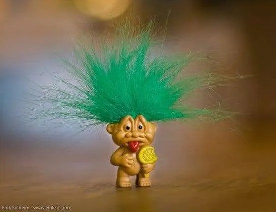 Do you know how to help your clients handle social media trolls? Photo courtesy of EirikSo on Flickr.
