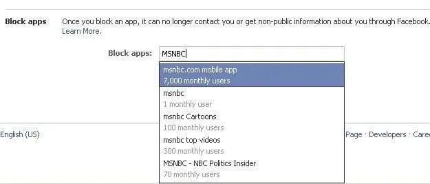 Select the Apps That You No Longer Wish To Interact With Your Facebook Account