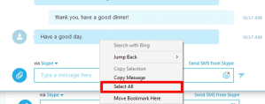 Quick tips on how to save or print your Skype conversations