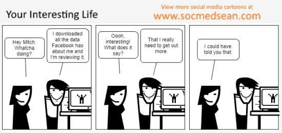 Is your life as interesting as social media makes it out to be?