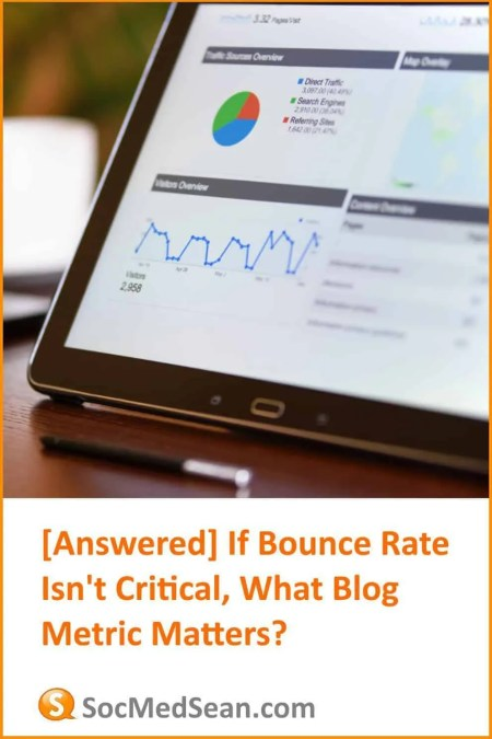 What blog metric matters when evaluating whether users like your content?