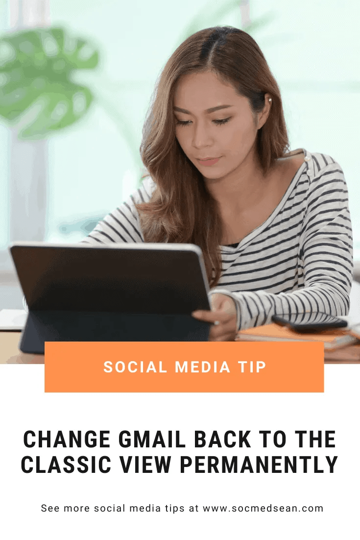 Change Gmail back to the classic view with these steps