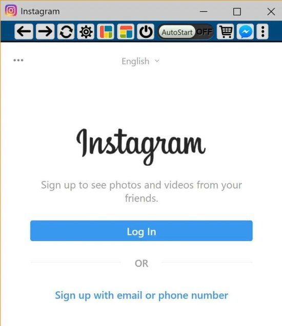 Login to Instagram from your desktop browser using the Chrome extension