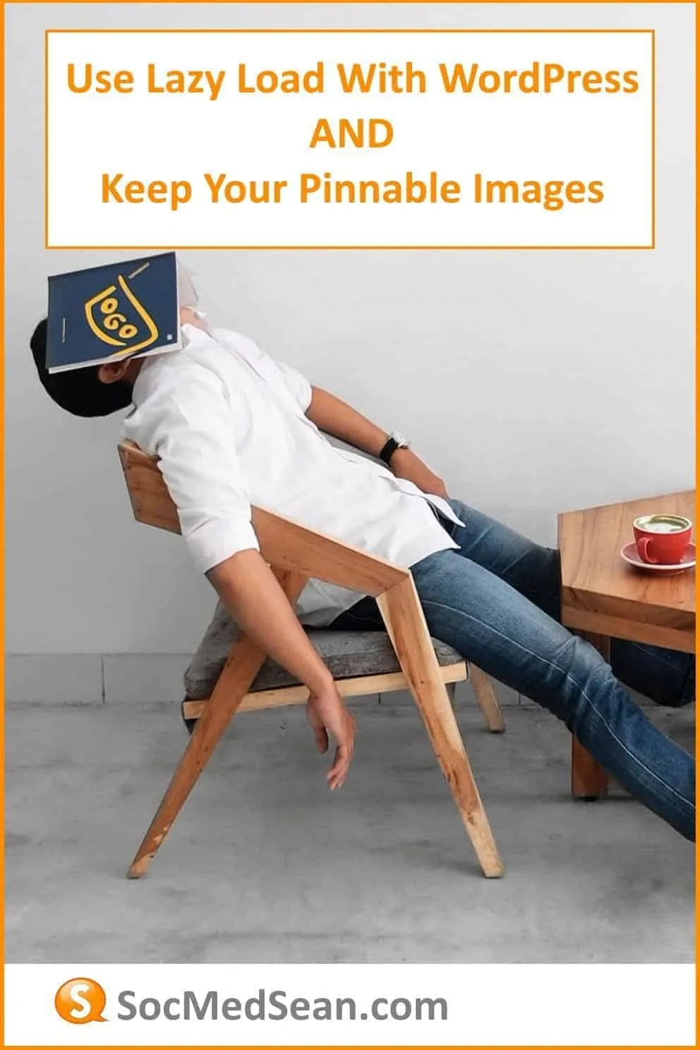 Lazy load your images and keep them pinnable on your WordPress site!
