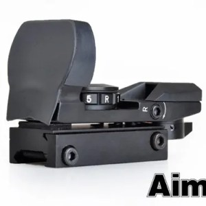 Aim-O Multi-Reticle Red/ Green Dot Reflex Sight