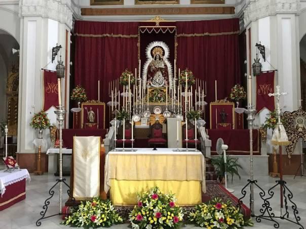 Virgen del Socorro en la Parroquia de San Bartolomé