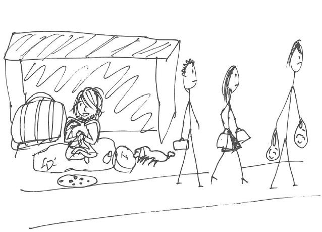 Jon Dean: Drawing What Homelessness Looks Like