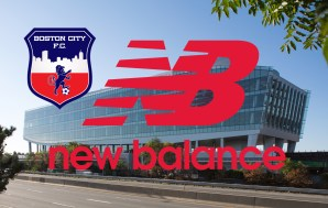 Boston City FC and New Balance