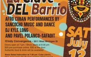 La Clave del Barrio fundraiser Saturday at Indy Convergence