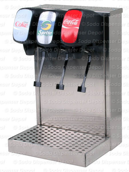 t00203  3Flavor Tower Soda Fountain System w NEW Remote