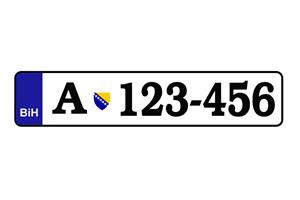 Počela proizvodnja novih registarskih tablica