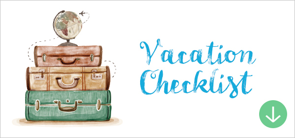 Travel Packing Checklist What To Pack On A Trip