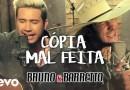 #Música: 'Cópia Mal Feita' da dupla Bruno & Barretto ganha clipe