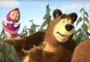 #Apresentação: Masha e o Urso invadem o Tom Brasil e convida crianças para o espetáculo